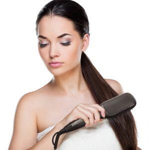 brossage cheveux naturels