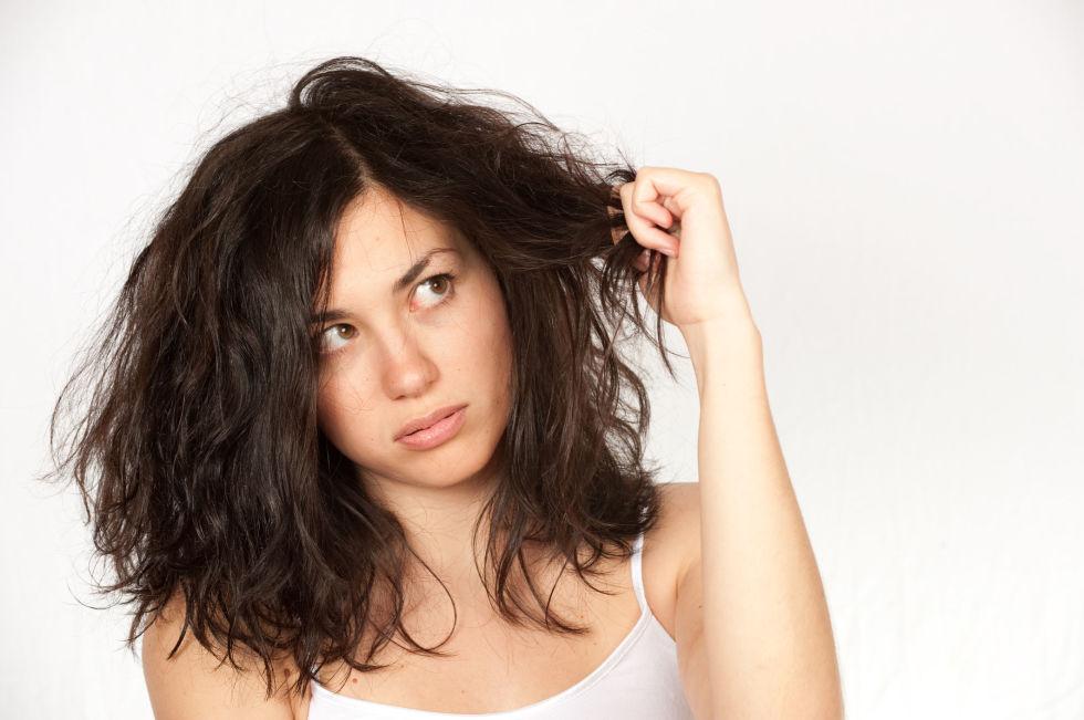 cheveux naturellement secs