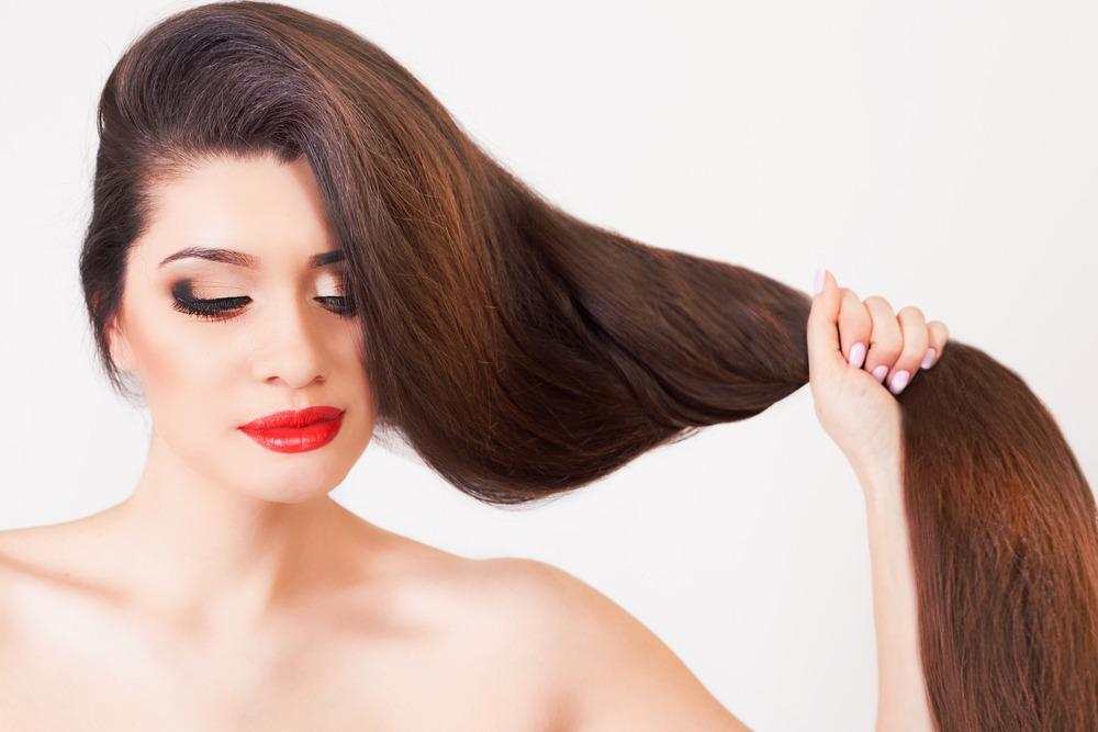 garder ses cheveux lisses