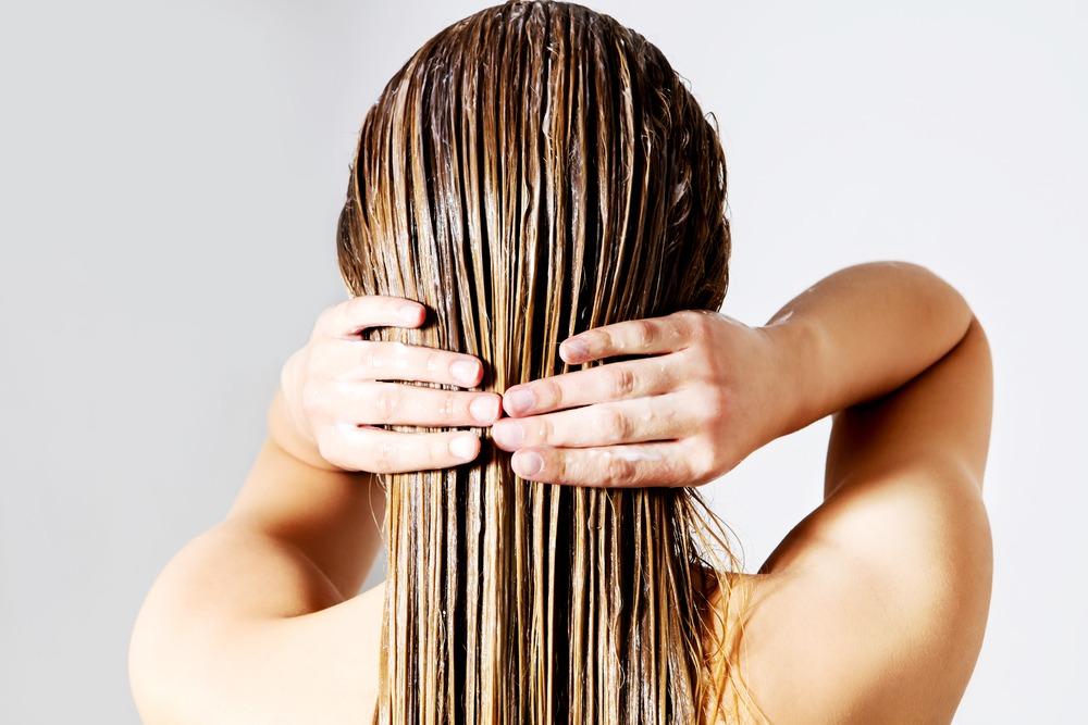 cheveux lavés et soins