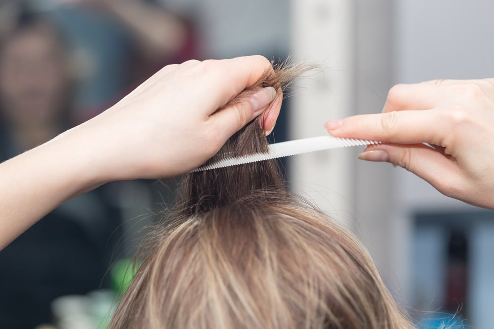crêper cheveux