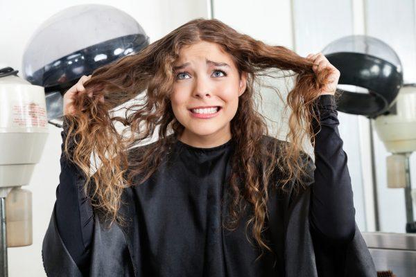 question sur ses cheveux