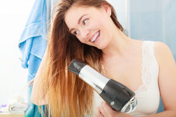 Séchage cheveux