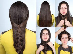 tutoriel coiffures tresse cascade