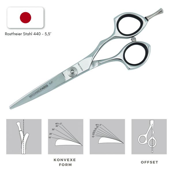 Japanische Schere madameparis